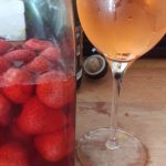 Strawberry/cherry spritz
