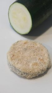 gepaneerde courgette vegetarische snack recept